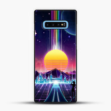 Load image into Gallery viewer, Neon Sunrise Samsung Galaxy S10 Case