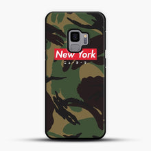 Load image into Gallery viewer, New York logo with Japanese script camo version Samsung Galaxy S9 Case