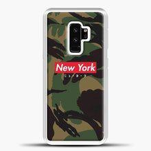 Load image into Gallery viewer, New York logo with Japanese script camo version Samsung Galaxy S9 Plus Case