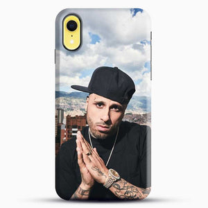 Nicky Jam Scenery Montain iPhone XR Case, Black Snap 3D Case | JoeYellow.com