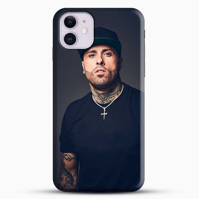 Nicky Jam Ticket And Date iPhone 11 Case, Black Snap 3D Case | JoeYellow.com