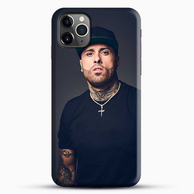 Nicky Jam Ticket And Date iPhone 11 Pro Max Case, Black Snap 3D Case | JoeYellow.com