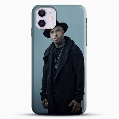 Nicky Jam Wearing Black Clothes iPhone 11 Case, Black Snap 3D Case | JoeYellow.com