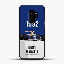 Load image into Gallery viewer, Nigel Mansell F1 World Champion 1992 Samsung Galaxy S9 Plus Case