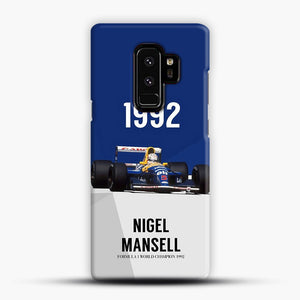 Nigel Mansell F1 World Champion 1992 Samsung Galaxy S9 Plus Case