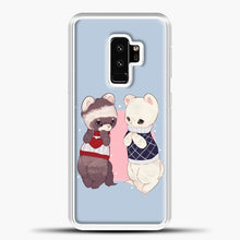 Load image into Gallery viewer, Noodle cats Samsung Galaxy S9 Plus Case