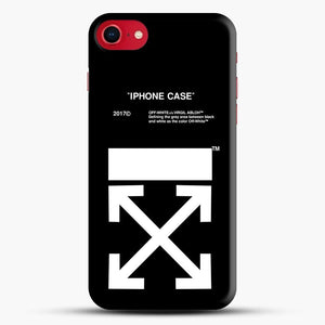 Off White Virgil Abloh iPhone SE 2020 Case, Snap 3D Case | JoeYellow.com