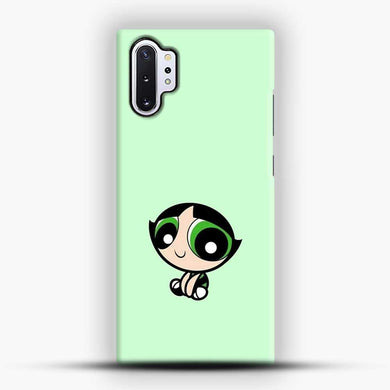 One Bad Buttercup Tosca Background Samsung Galaxy Note 10 Plus Case, Black Snap 3D Case | JoeYellow.com