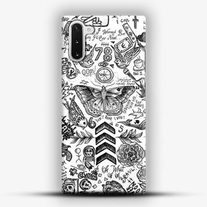 One Direction Tattoos Samsung Galaxy Note 10 Case