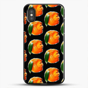 Oranges On Black The New Sadness iPhone XS Case