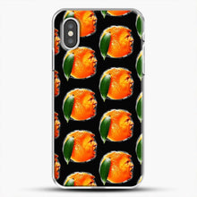 Load image into Gallery viewer, Oranges On Black The New Sadness iPhone XS Case