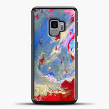 Load image into Gallery viewer, Paint Marbling Samsung Galaxy S9 Case