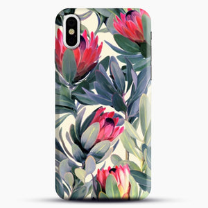 Painted Protea iPhone Case