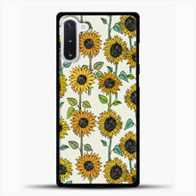 Load image into Gallery viewer, Painted Sunflowers Samsung Galaxy Note 10 Case