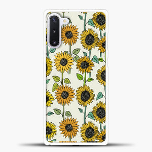 Painted Sunflowers Samsung Galaxy Note 10 Case