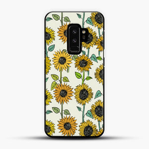 Painted Sunflowers Samsung Galaxy S9 Plus Case