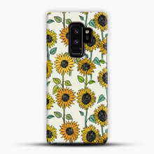 Load image into Gallery viewer, Painted Sunflowers Samsung Galaxy S9 Plus Case