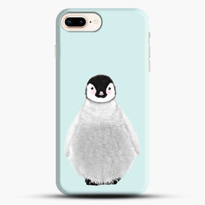 Penguin Blue Background iPhone 7 Plus Case