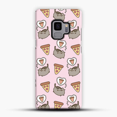 Pizza Hut Pusheen Samsung Galaxy S9 Case, Snap 3D Case | JoeYellow.com