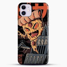 Load image into Gallery viewer, Pizza Kong iPhone 11 Case, Black Snap 3D Case | JoeYellow.com
