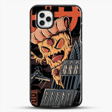 Load image into Gallery viewer, Pizza Kong iPhone 11 Pro Case, Black Plastic Case | JoeYellow.com