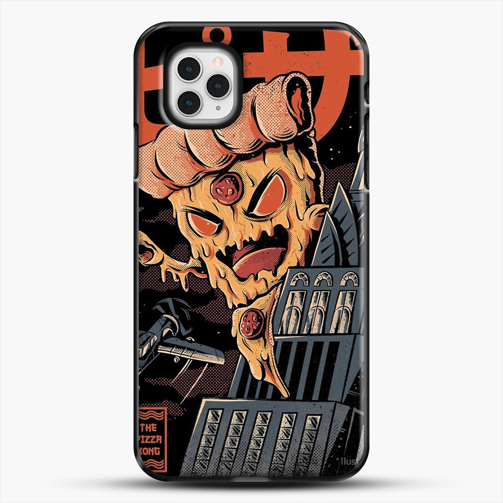 Pizza Kong iPhone 11 Pro Case, Black Plastic Case | JoeYellow.com