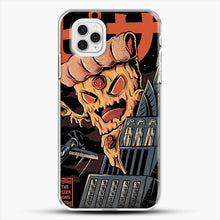 Load image into Gallery viewer, Pizza Kong iPhone 11 Pro Case, White Plastic Case | JoeYellow.com