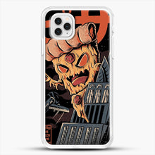 Load image into Gallery viewer, Pizza Kong iPhone 11 Pro Case, White Rubber Case | JoeYellow.com