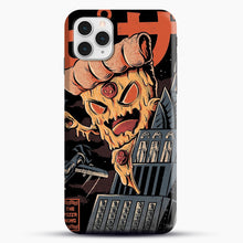 Load image into Gallery viewer, Pizza Kong iPhone 11 Pro Case, Black Snap 3D Case | JoeYellow.com