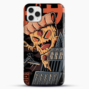 Pizza Kong iPhone 11 Pro Case, Black Snap 3D Case | JoeYellow.com