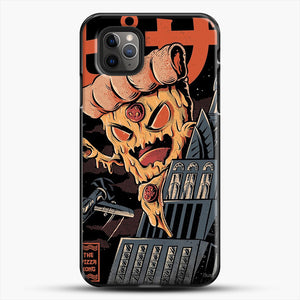 Pizza Kong iPhone 11 Pro Max Case, Black Plastic Case | JoeYellow.com