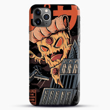 Load image into Gallery viewer, Pizza Kong iPhone 11 Pro Max Case, Black Snap 3D Case | JoeYellow.com