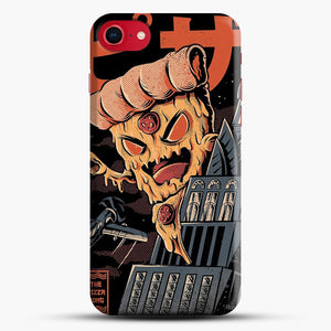 Pizza Kong iPhone 7 Case, Black Snap 3D Case | JoeYellow.com