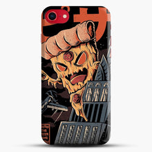 Load image into Gallery viewer, Pizza Kong iPhone 8 Case, Black Snap 3D Case | JoeYellow.com