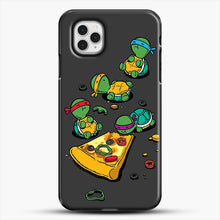 Load image into Gallery viewer, Pizza Lover iPhone 11 Pro Case, Black Plastic Case | JoeYellow.com