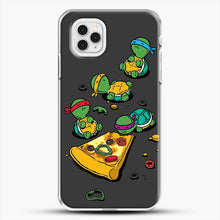 Load image into Gallery viewer, Pizza Lover iPhone 11 Pro Case, White Plastic Case | JoeYellow.com