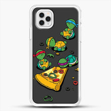 Load image into Gallery viewer, Pizza Lover iPhone 11 Pro Case, White Rubber Case | JoeYellow.com