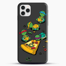 Load image into Gallery viewer, Pizza Lover iPhone 11 Pro Case, Black Snap 3D Case | JoeYellow.com