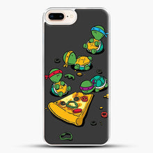 Load image into Gallery viewer, Pizza Lover iPhone 7 Plus Case, White Plastic Case | JoeYellow.com