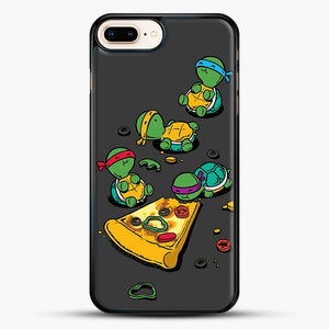 Pizza Lover iPhone 7 Plus Case, Black Rubber Case | JoeYellow.com