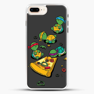 Pizza Lover iPhone 7 Plus Case, White Rubber Case | JoeYellow.com