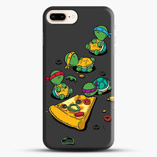 Load image into Gallery viewer, Pizza Lover iPhone 7 Plus Case, Black Snap 3D Case | JoeYellow.com