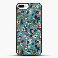 Load image into Gallery viewer, Plus Ultra Pattern iPhone 8 Plus Case, Black Plastic Case | JoeYellow.com