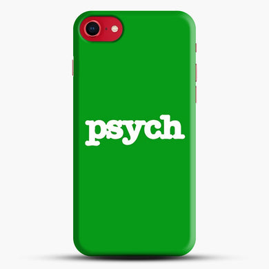 Psych iPhone 8 Case, Black Snap 3D Case | JoeYellow.com