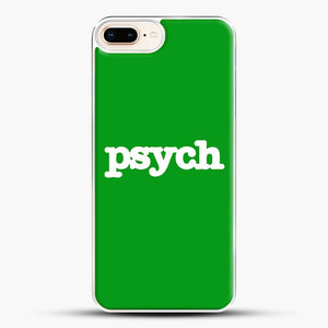 Psych iPhone 8 Plus Case, White Plastic Case | JoeYellow.com