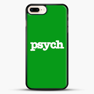 Psych iPhone 8 Plus Case, Black Rubber Case | JoeYellow.com