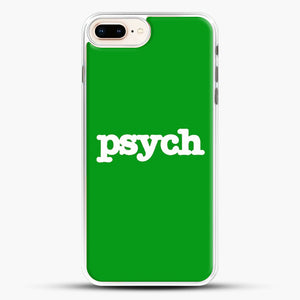 Psych iPhone 8 Plus Case, White Rubber Case | JoeYellow.com