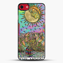 Load image into Gallery viewer, Psychadelic Tarot The Moon iPhone 8 Case, Black Plastic Case | JoeYellow.com