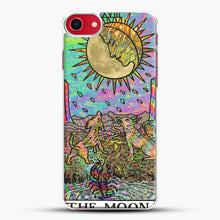 Load image into Gallery viewer, Psychadelic Tarot The Moon iPhone 8 Case, White Plastic Case | JoeYellow.com