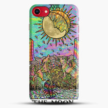 Load image into Gallery viewer, Psychadelic Tarot The Moon iPhone 8 Case, Black Snap 3D Case | JoeYellow.com